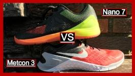 Nike Metcon 3 vs Reebok Nano 7
