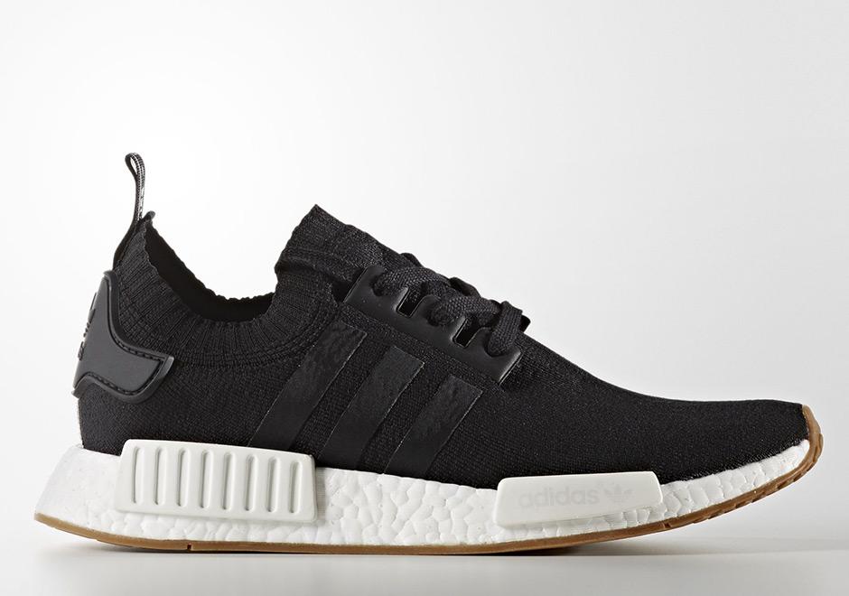 Black Adidas NMD R1 Gum Pack