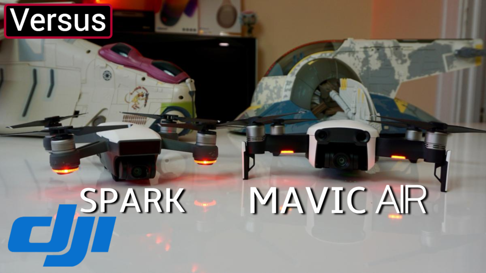 DJI Mavic Air Vs Spark