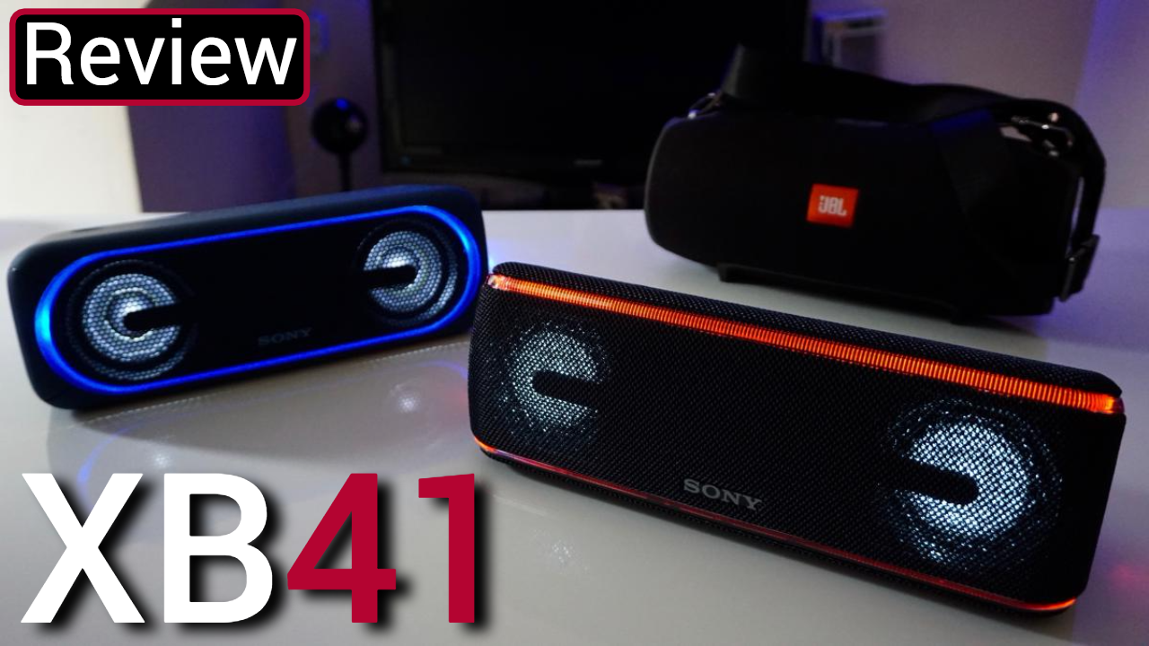 Sony XB41 Review With The XB40 And JBL Xtreme — GYMCADDY
