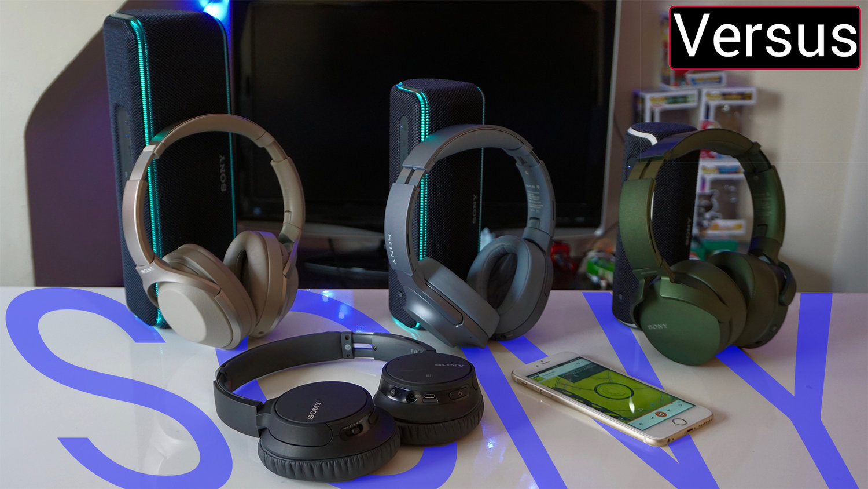 Sony's ANC Headphone Line Up Explained — GYMCADDY