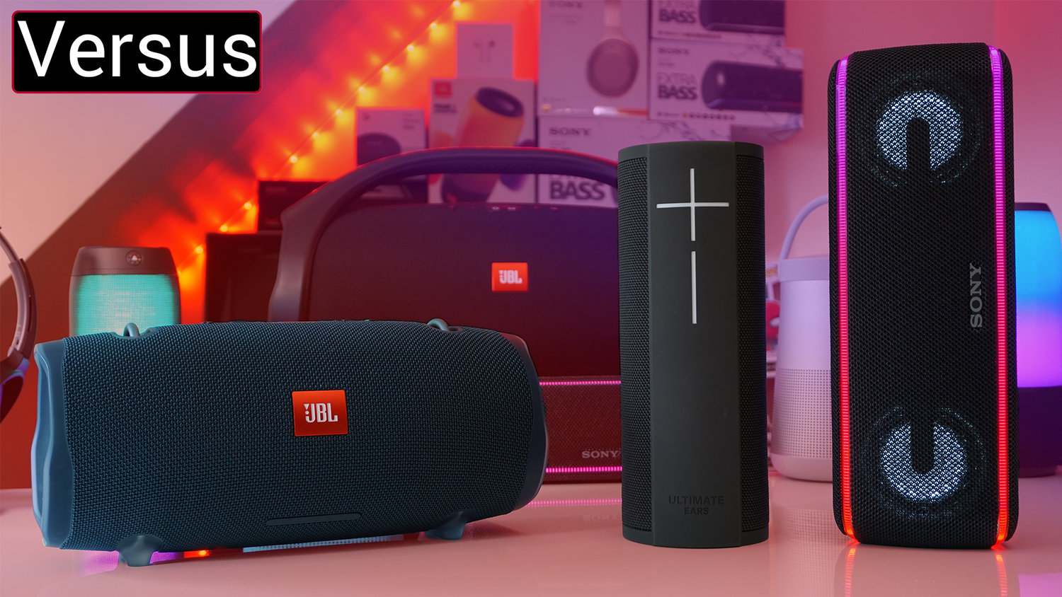 Revisiting The UE MEGABLAST & Comparing It To JBL Xtreme 2 & Sony