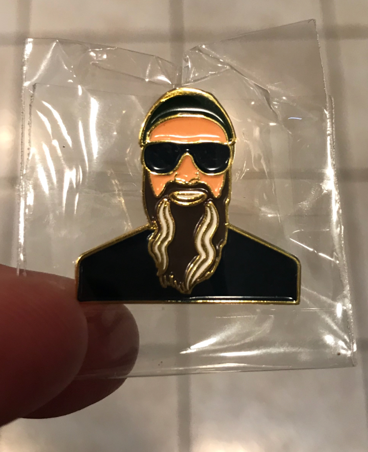 Colonel Steve Enamel Pin - We have a limited supply of the Colonel Steve enamel pins that are being given away to Patreon supporters. These pins are $10 each and include shipping. Like all other items, just fill out the form above to order one of these.