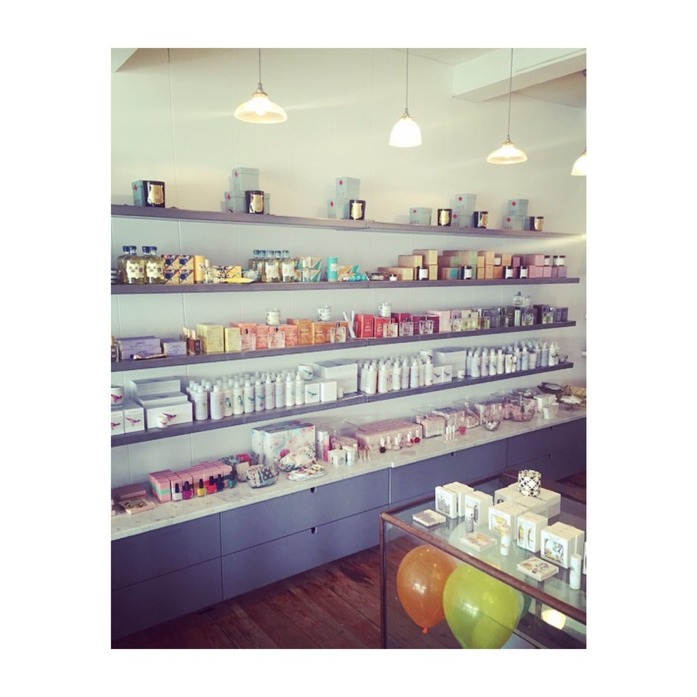 The Hambledons selection of perfumes, candles, body and skincare is wonderful.