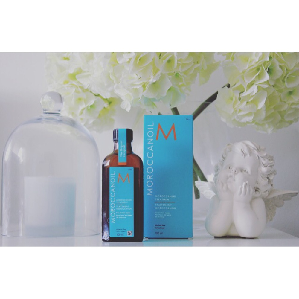 Use Moroccan oil after washing and conditioning as a leave in treatment.