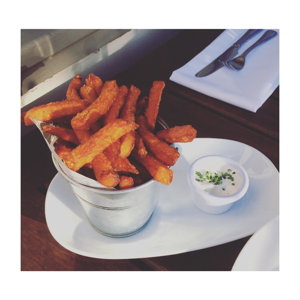 Sweet potatoe fries 😍