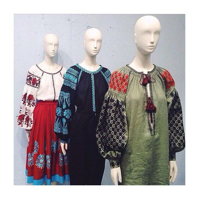 Vita Kin Vyshyvanka inspired designer dresses.