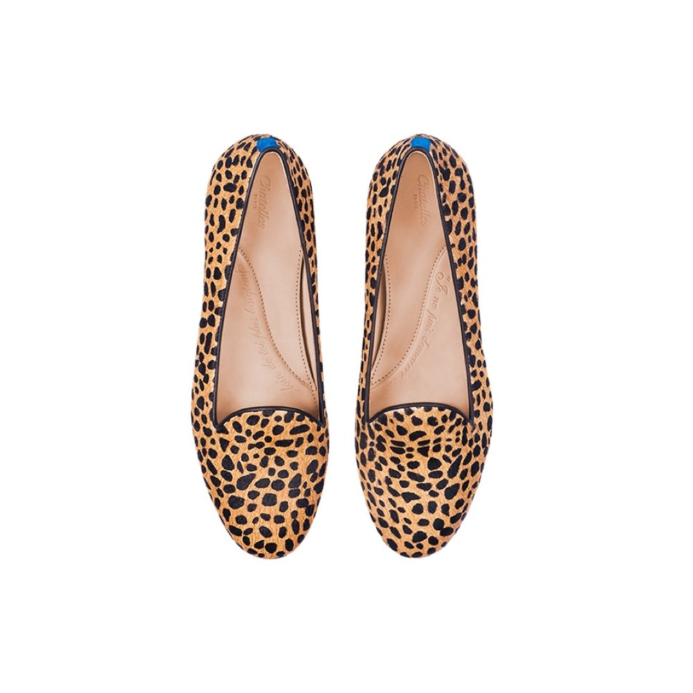 Chatelles Leo print slipper €190
