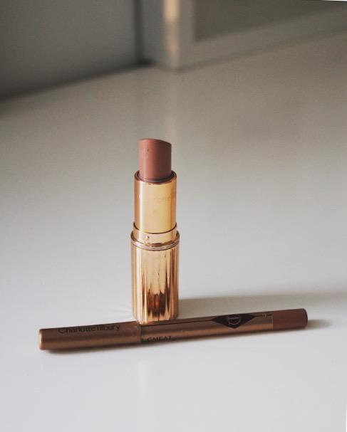 Charlotte Tilbury lip liner Pillowtalk, lipstick Penelope Pink - £16 & £24 charlottetilbury.com