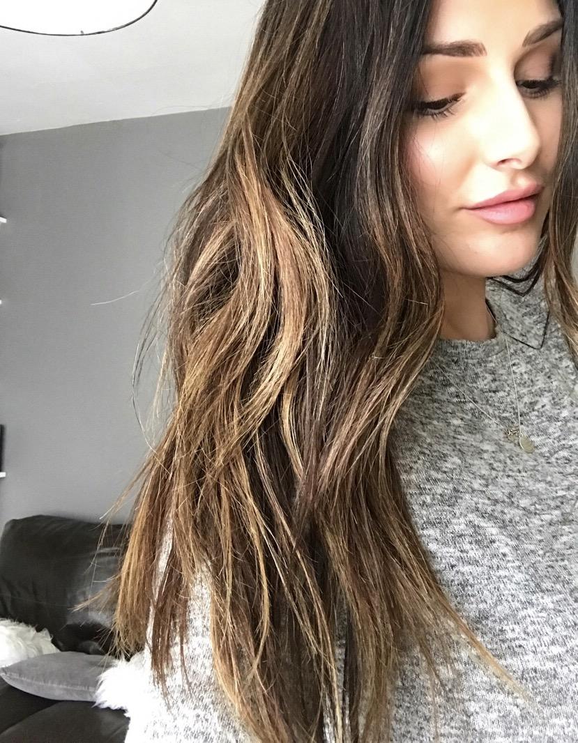 Shiny hair!