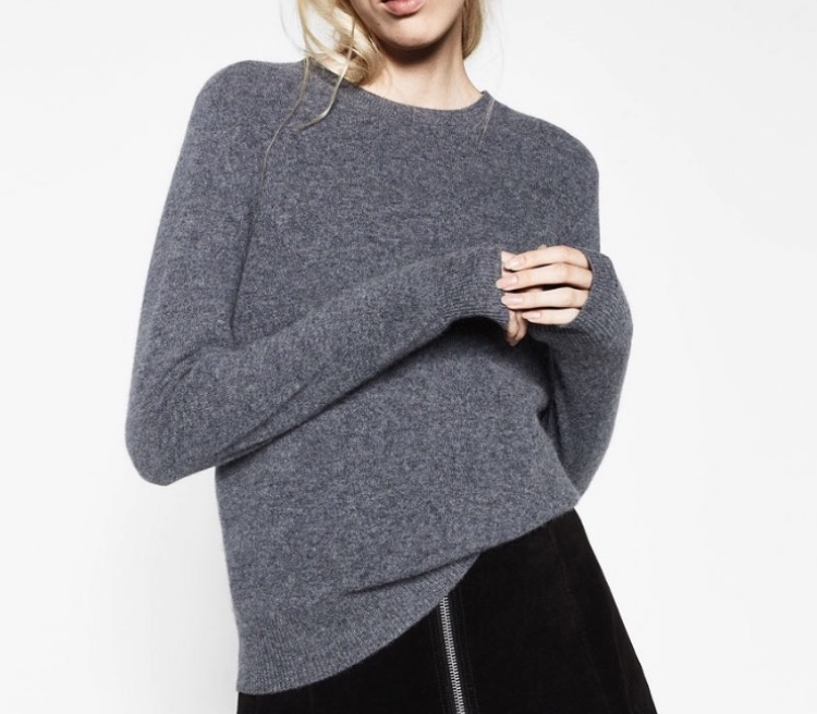 Zara cashmere knit - £89.99