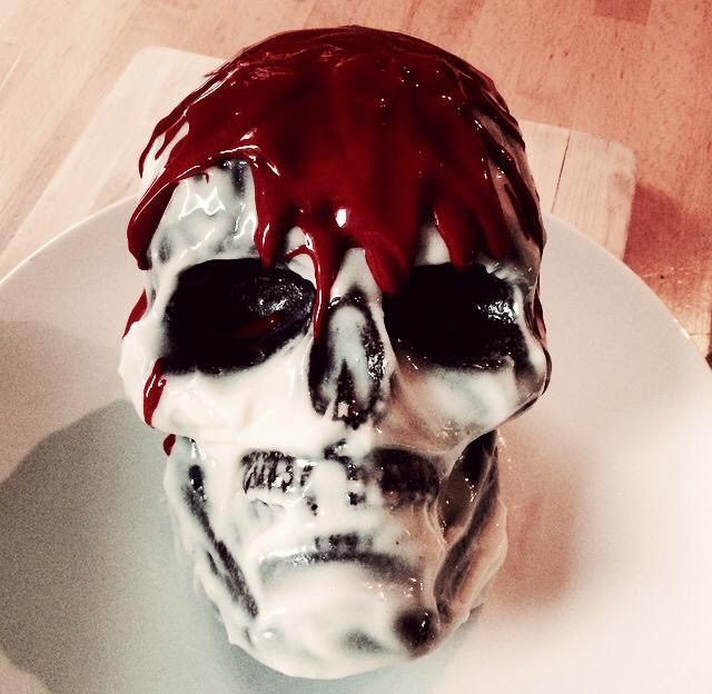 Skull cake 2014, made by moi