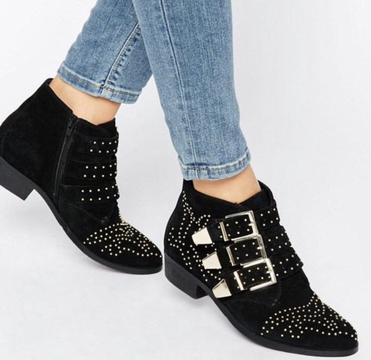 Office - Alloy Studded suede - £85 (I NEED these Chloe-esque boots in my life!)
