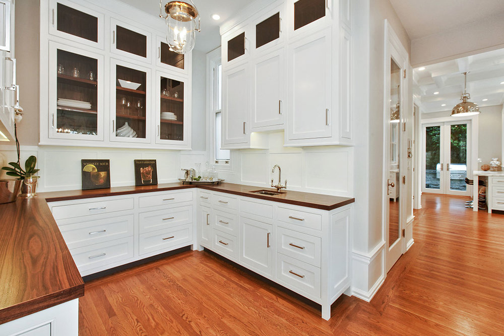 traditional butler's pantry in san francisco