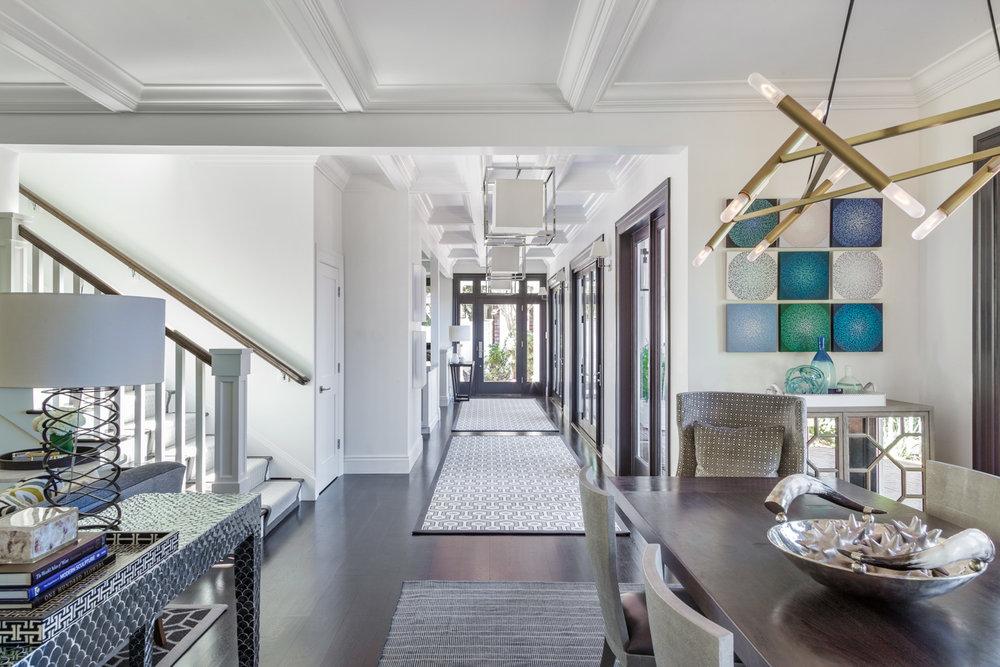 hallway in home