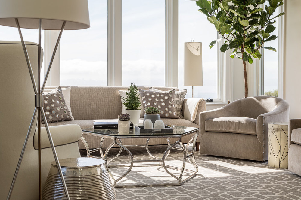 neutral sitting room