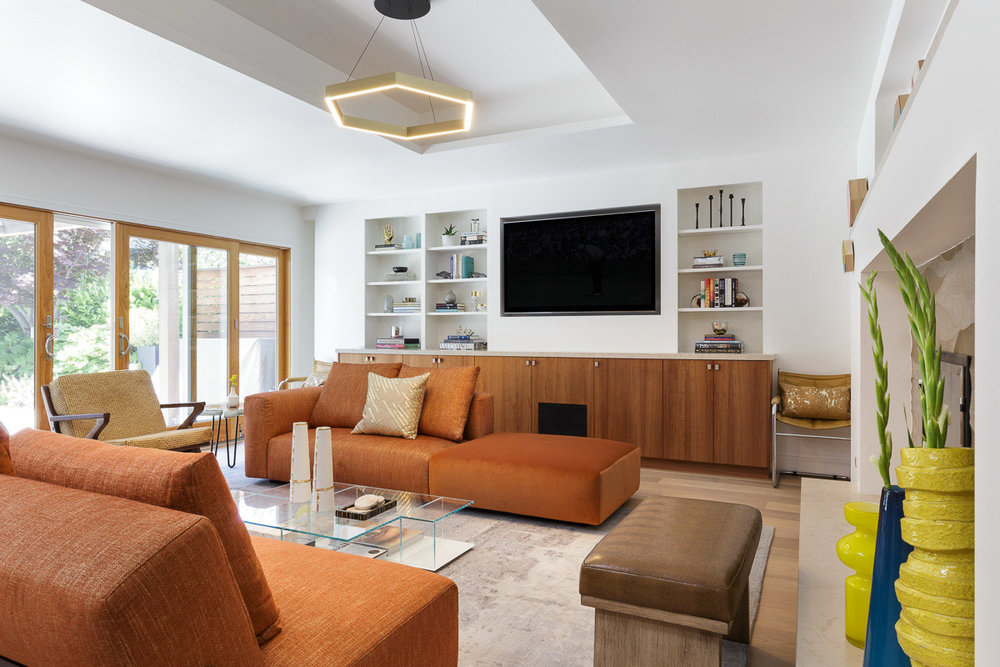 Modern Interieur Warm : Palo alto warm modern u ann lowengart interiors