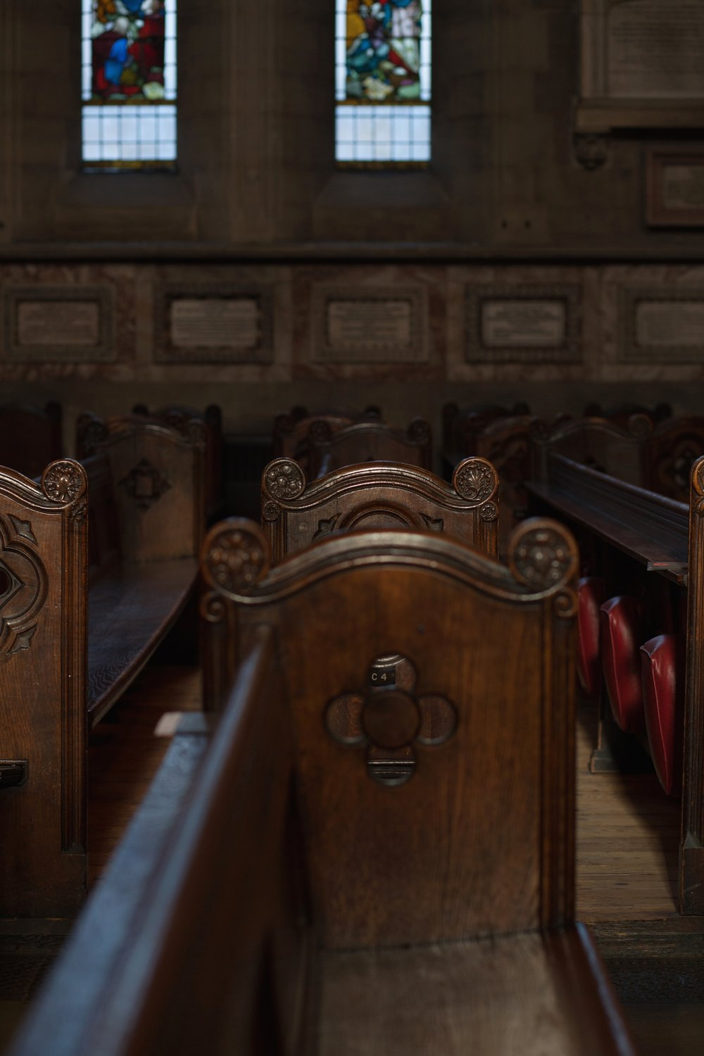 St. Mary's Pew