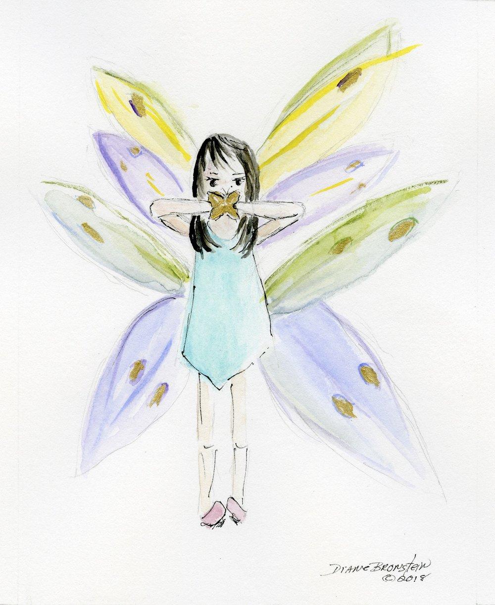 Little Miss Butterfly... actually mischievous.