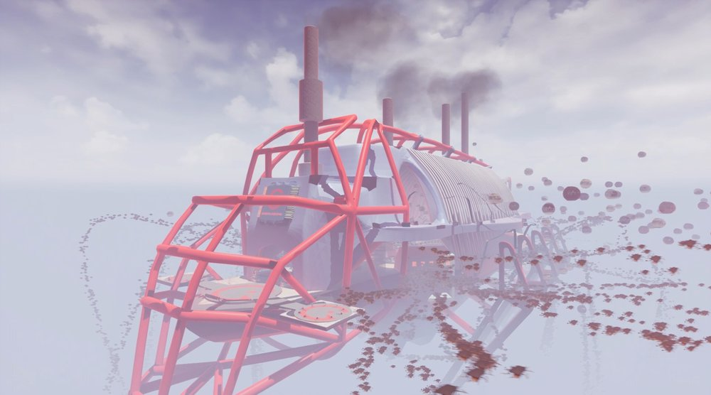 Amazing Industries Floating Factory (Film Still), 2018
