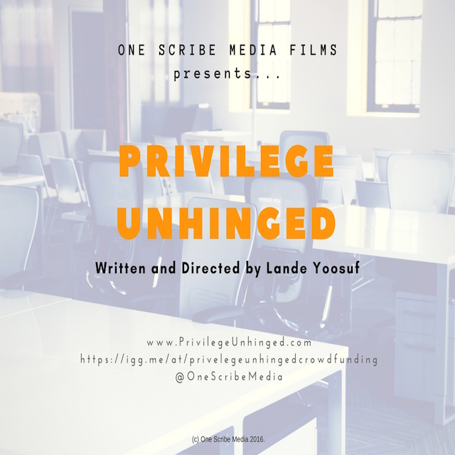 PRIVILEGE UNHINGED - For Social Media