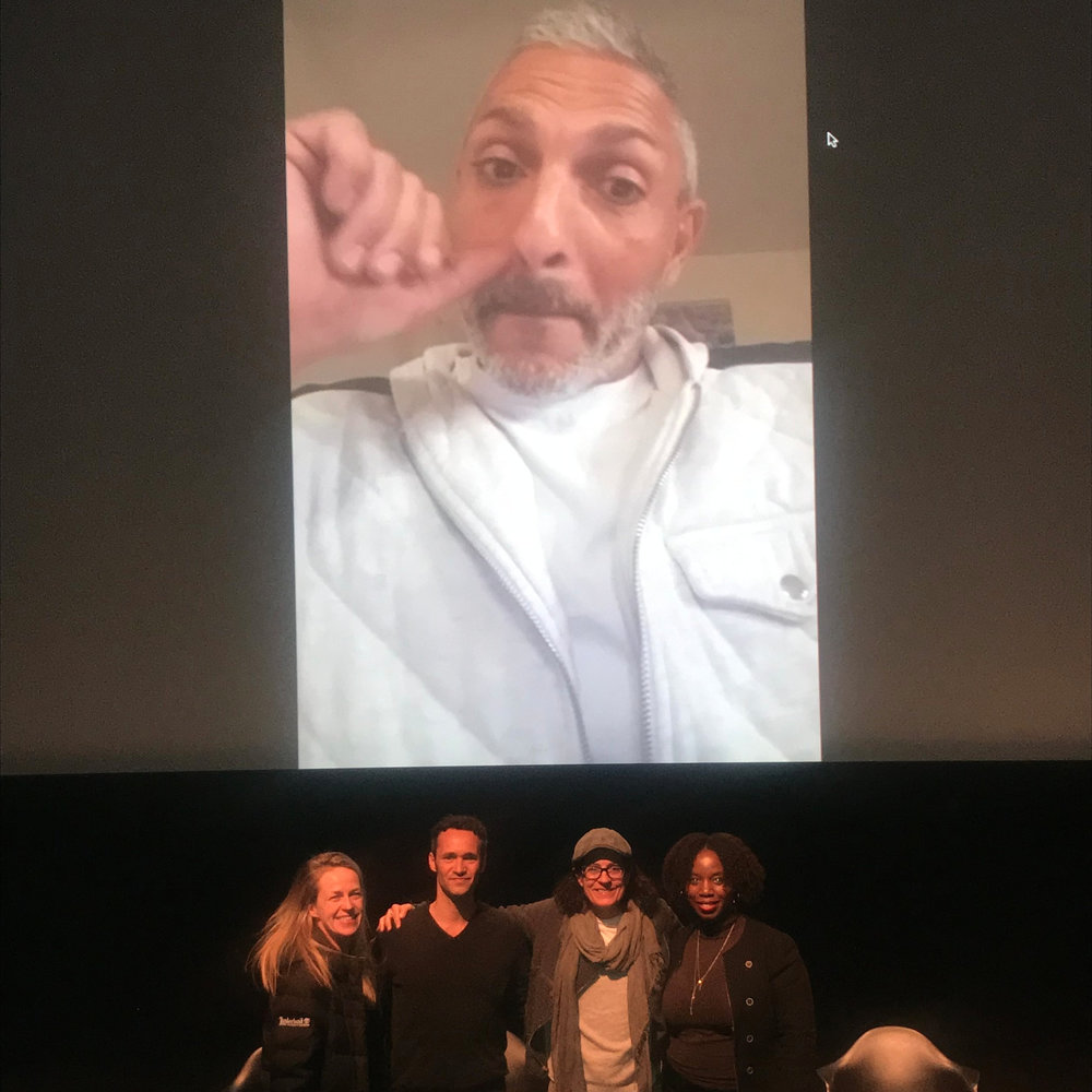 "SCREENING OF NETFLIX FILM DISTRIBUTED BY AVA DuVERNAY - LIC, NYC - Lande Yoosuf moderated a panel/q&a after the screening of ""Roll With Me""—a documentary directed by Lisa France and starring Gabrielle Cordell. The film received a distribution deal via Ava DuVernay's Array company."