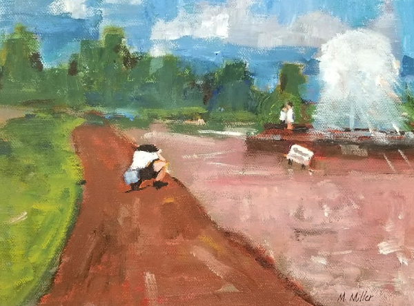 "Engagement   -  Oil  -  10"" x 8"""