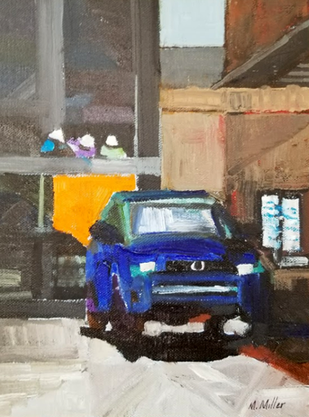 "Drive-through  -  Oil  -  8"" x 10"""