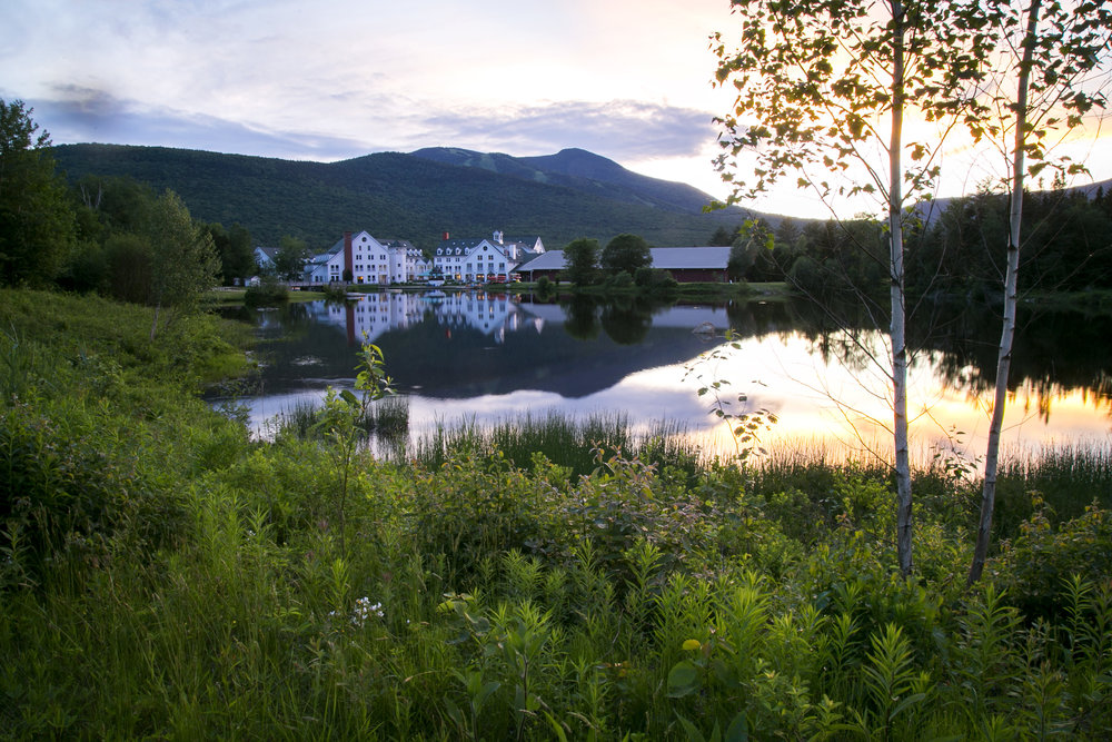 Waterville Valley Resort in Waterville Valley, NH  June 2017