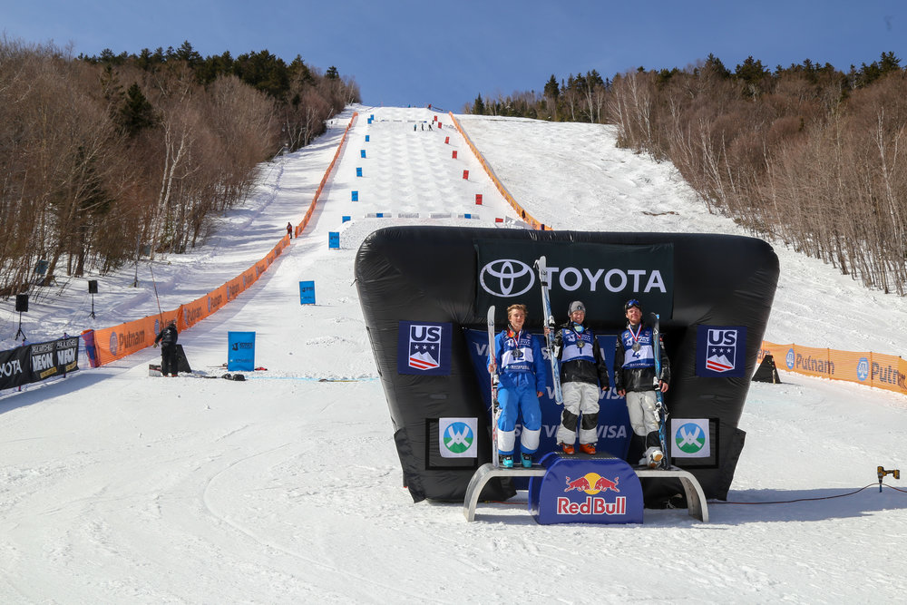 Men's Mogul Finals, March 23rd, 2018