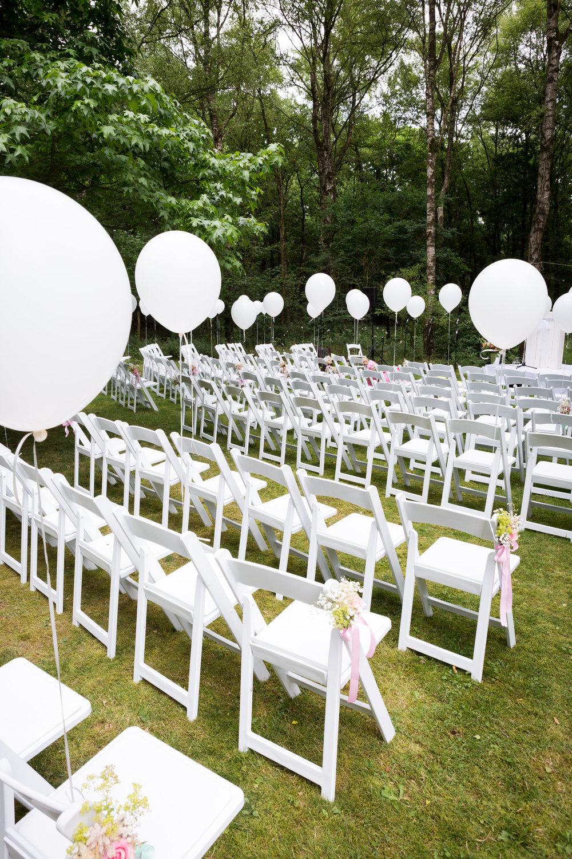 ceremonie opstelling bruiloft