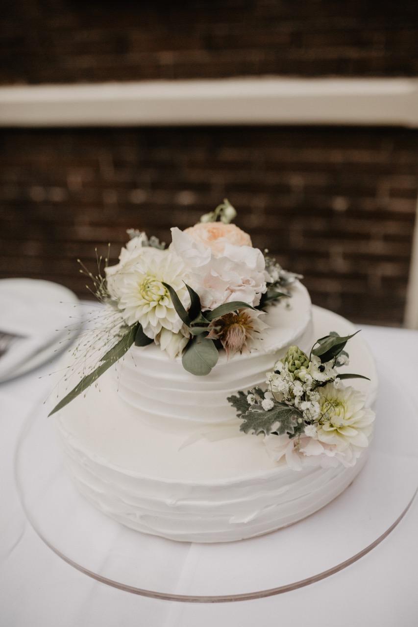 bruiloft taart bruidstaart