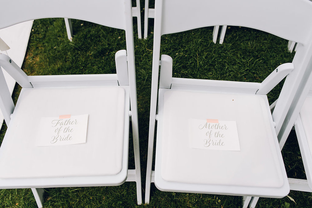 ceremony seating cards
