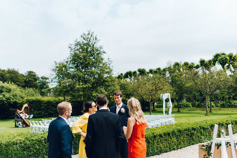 arrival wedding