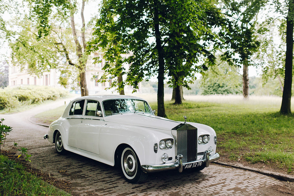 wedding bridal car