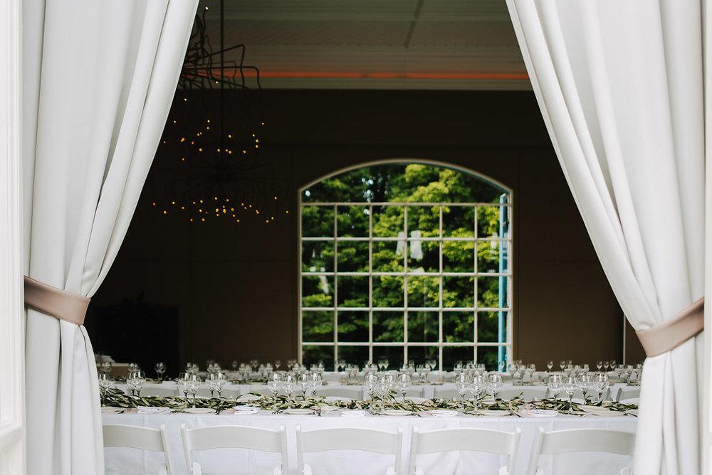 wedding dinner