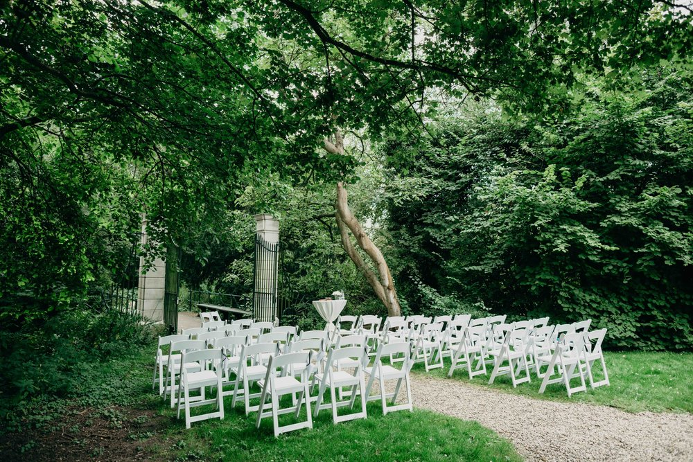 ceremony set up Huize Frankendael Amsterdam