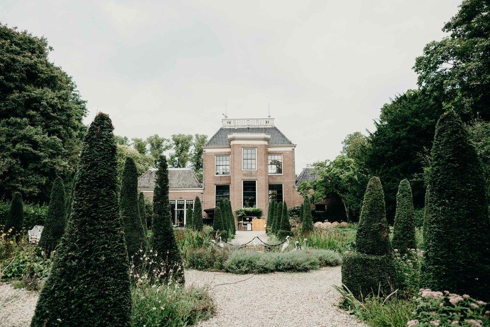 Huize Frankendael trouwlocatie Amsterdam weddingplanner