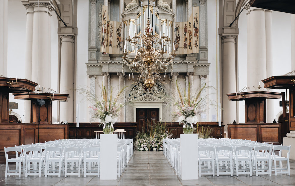 bruiloft westerkerk amsterdam weddingplanner otmweddings