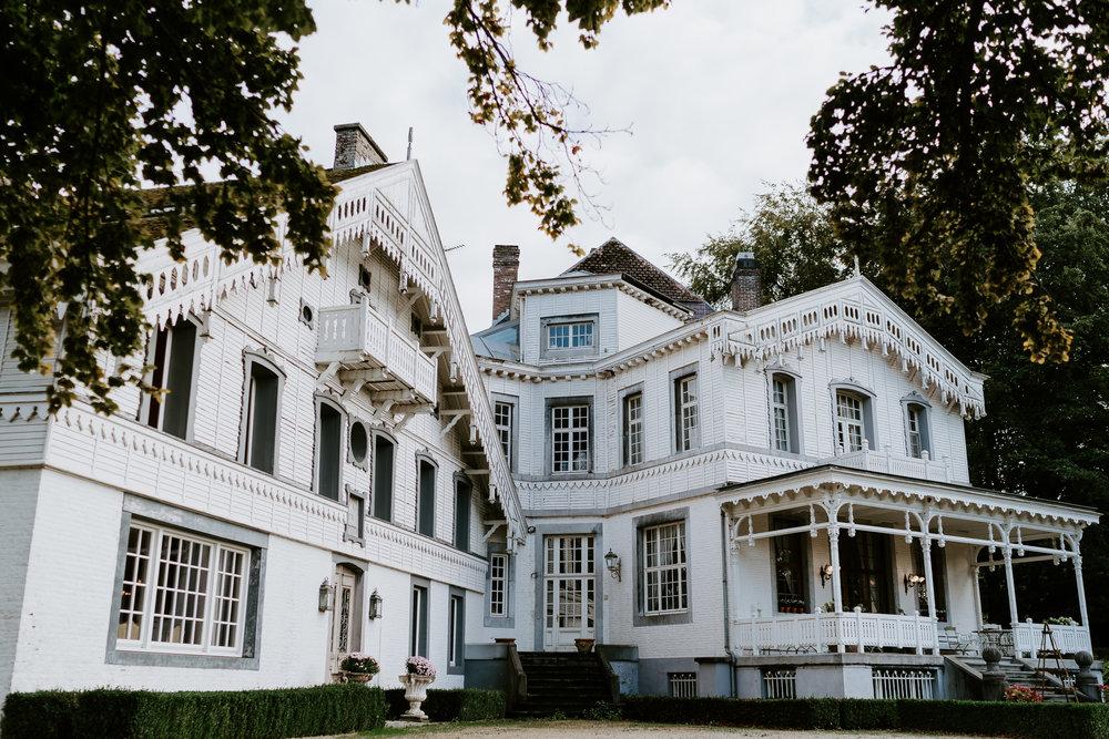 Landgoed Altembrouck Belgie bruiloft