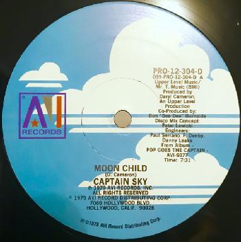 Moon Child single, 1979 (AVI Records)