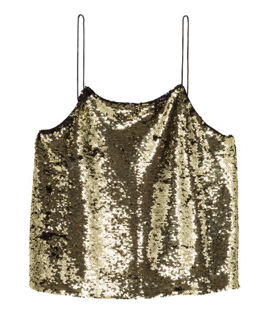 Pair this top with that skirt and I guarantee you'll feel all Daisy from Gatsby all night long!