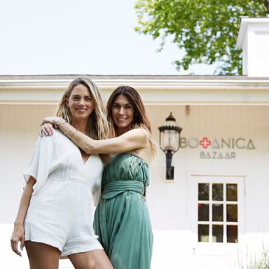 """We pride ourselves on our tight curation: we don't want to overwhelm our customers with too many options for one type of product."" Get to know the inspiring women behind Amagansett, NY's beautifully curated beauty and wellness boutique, Botanica Bazaar.  #summerskin #summer #beauty #health #wellness #skinhealth #skincare #hamptons #summerofscience"