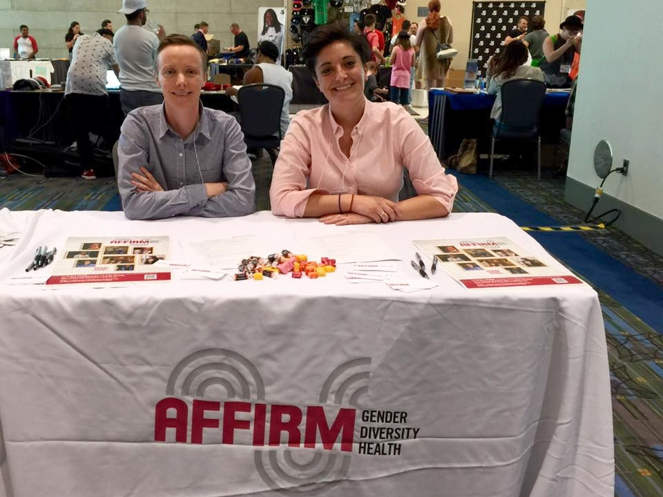 Project AFFIRM Outreach Event