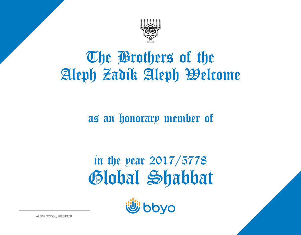 AZA Inductions Certificate Template   Bring your gamechanger into your community by honoring them with an AZA induction certificate.