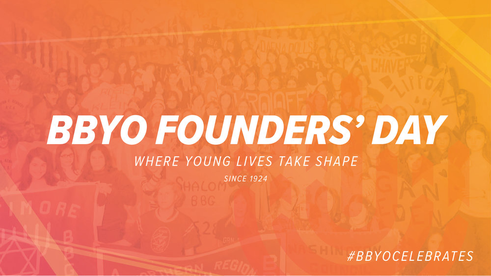 BBYO Founders' Day  |  Cover Photo