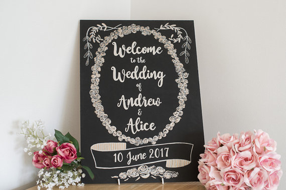 A3 Welcome wedding sign £25.jpg