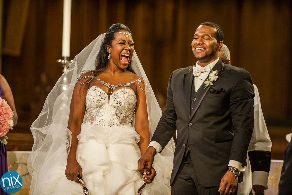 Roy and Yasha wedding at Duke Chapel and Durham Hilton on January 10, 2015.