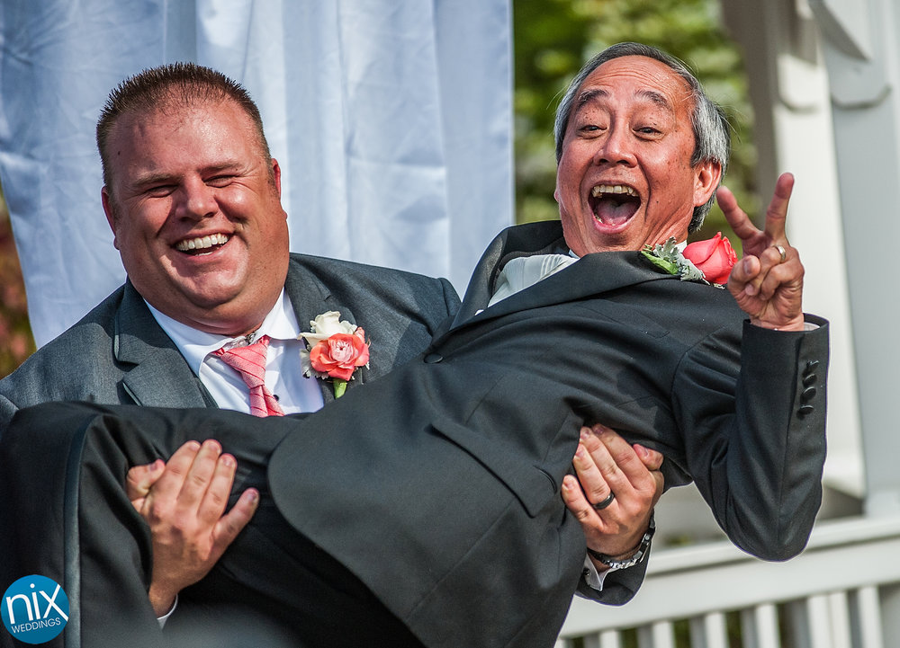 Heather and Josh wedding at Tuscany Gardens in Greensboro, NC, on May 2, 2015.