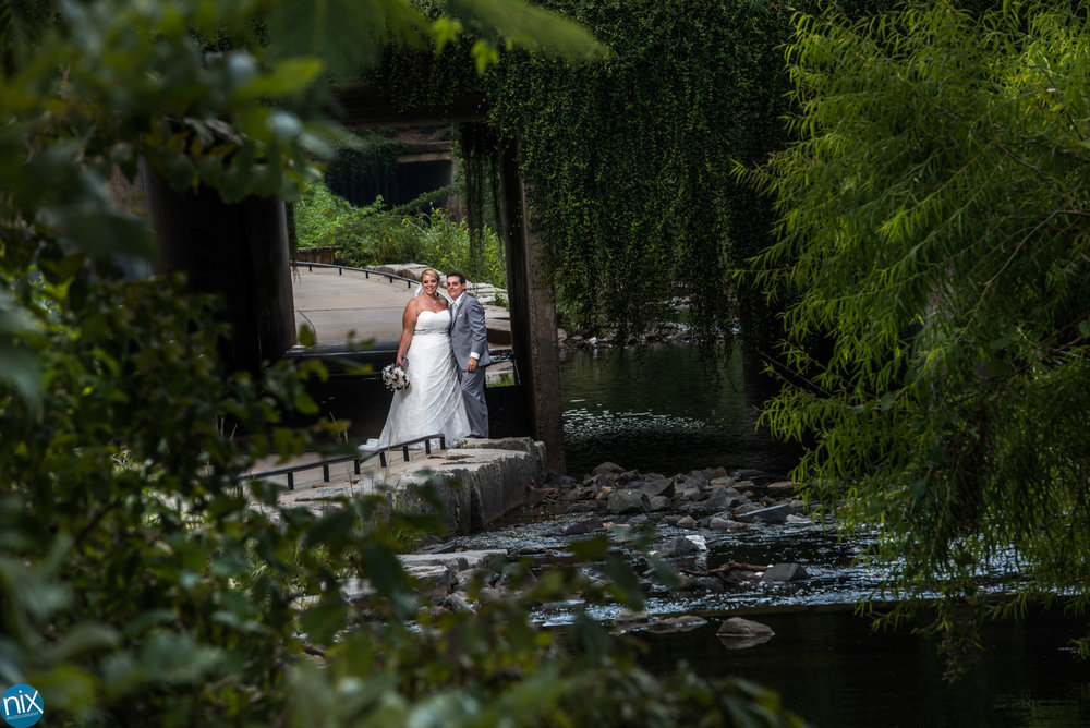 bride and groom greenway creek.jpg